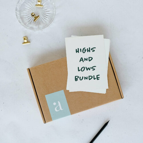 highs and lows bundle